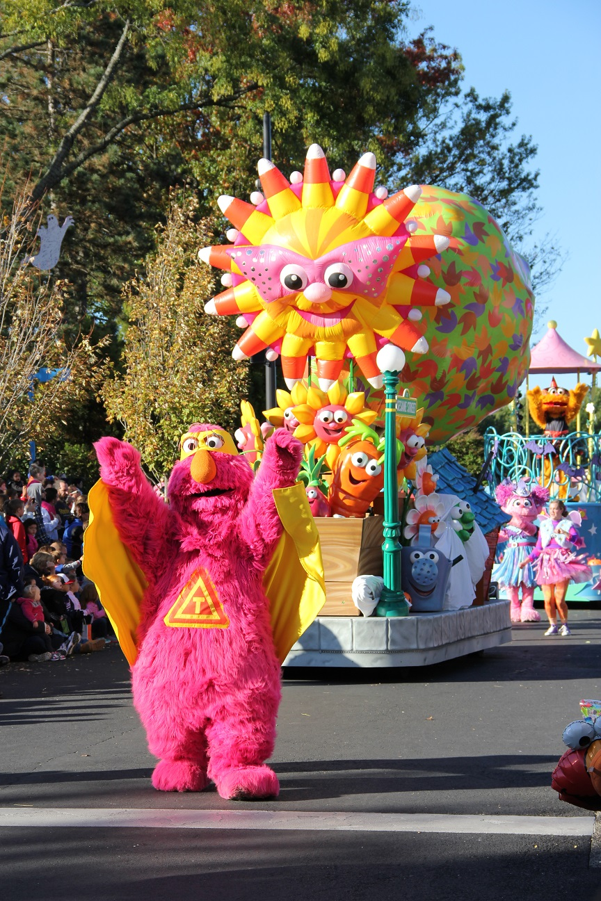 Sesame Place The Count S Halloween Spooktacular The