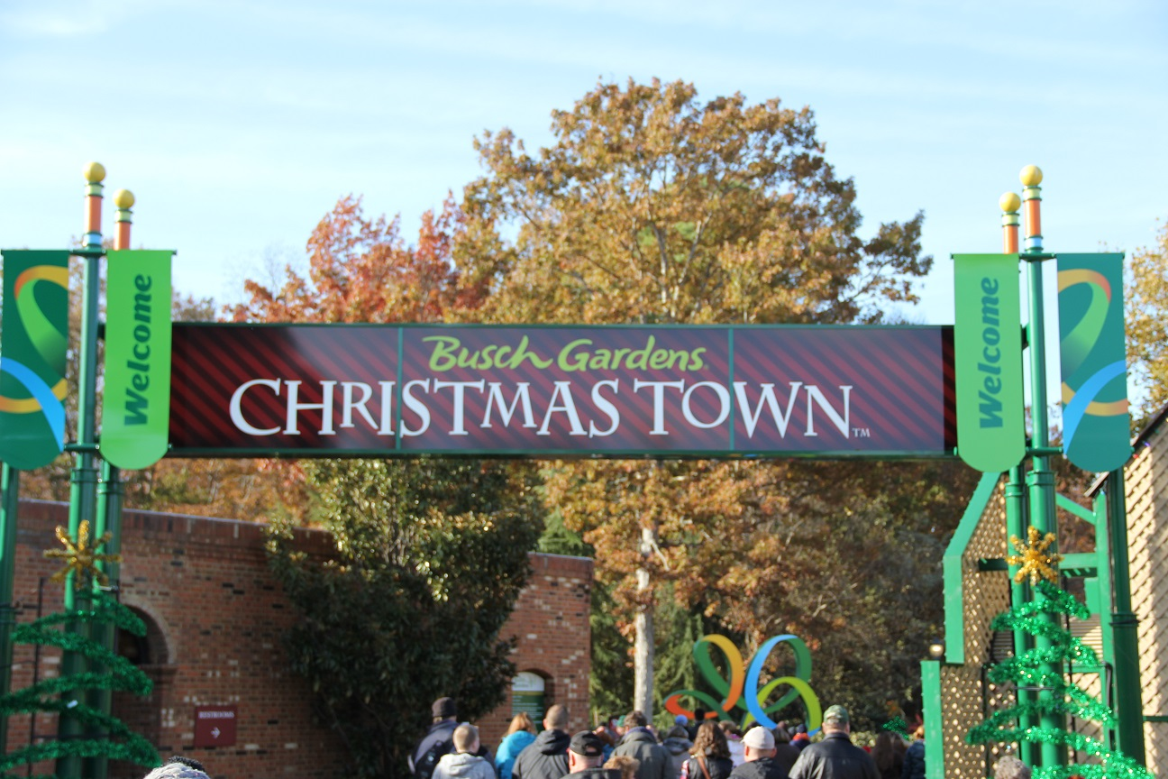 Five Ways To Enjoy Busch Gardens Christmas Town | Busch