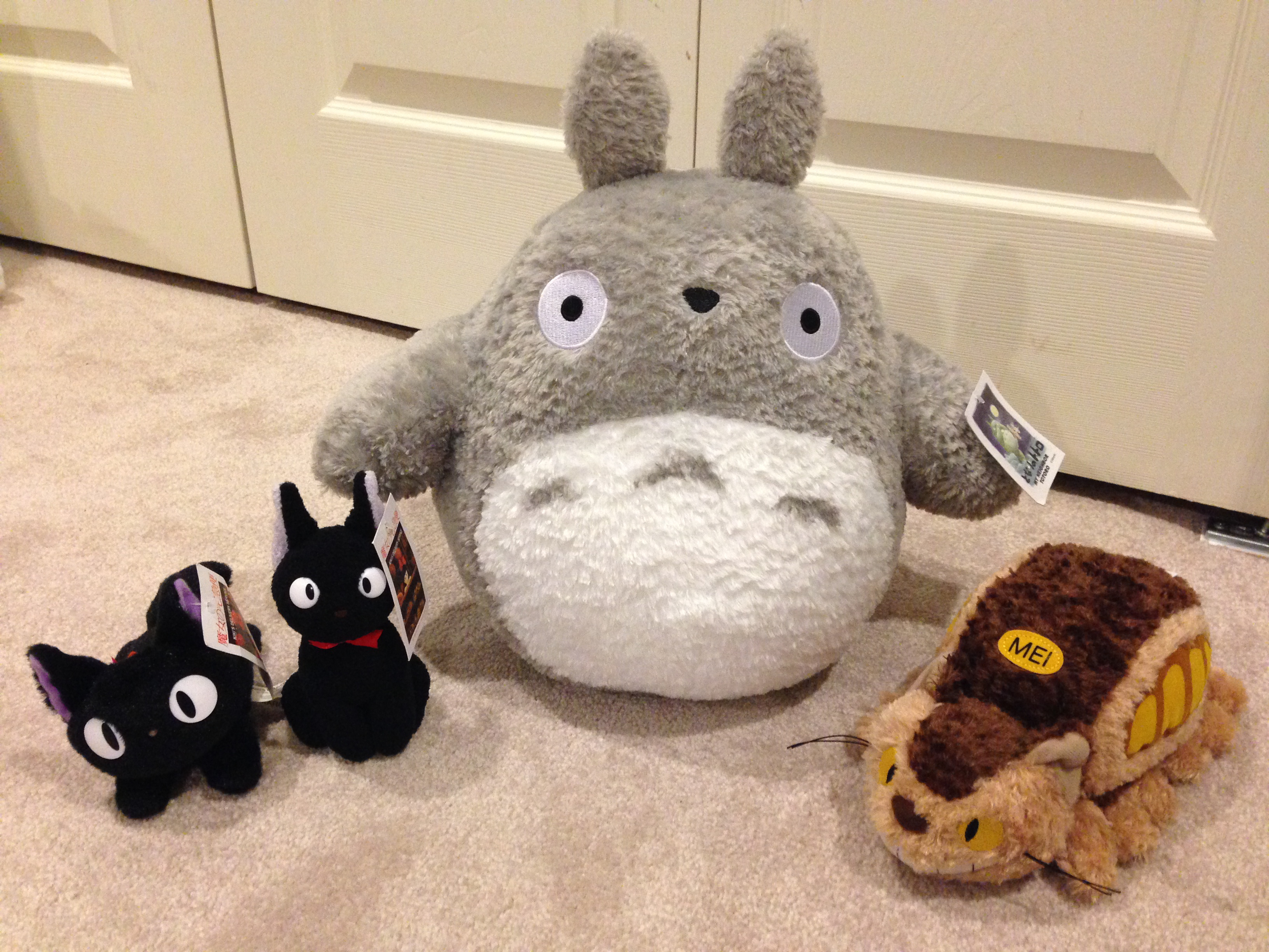 how to make a totoro plush
