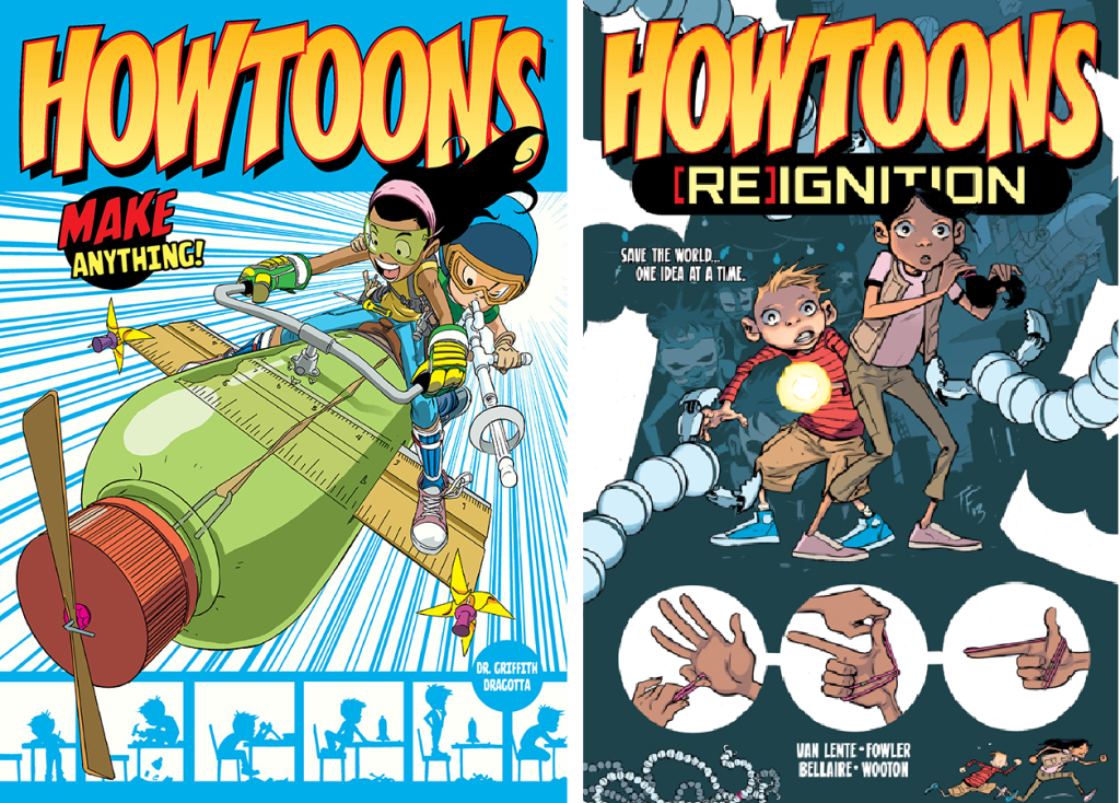 Howtoons_covers