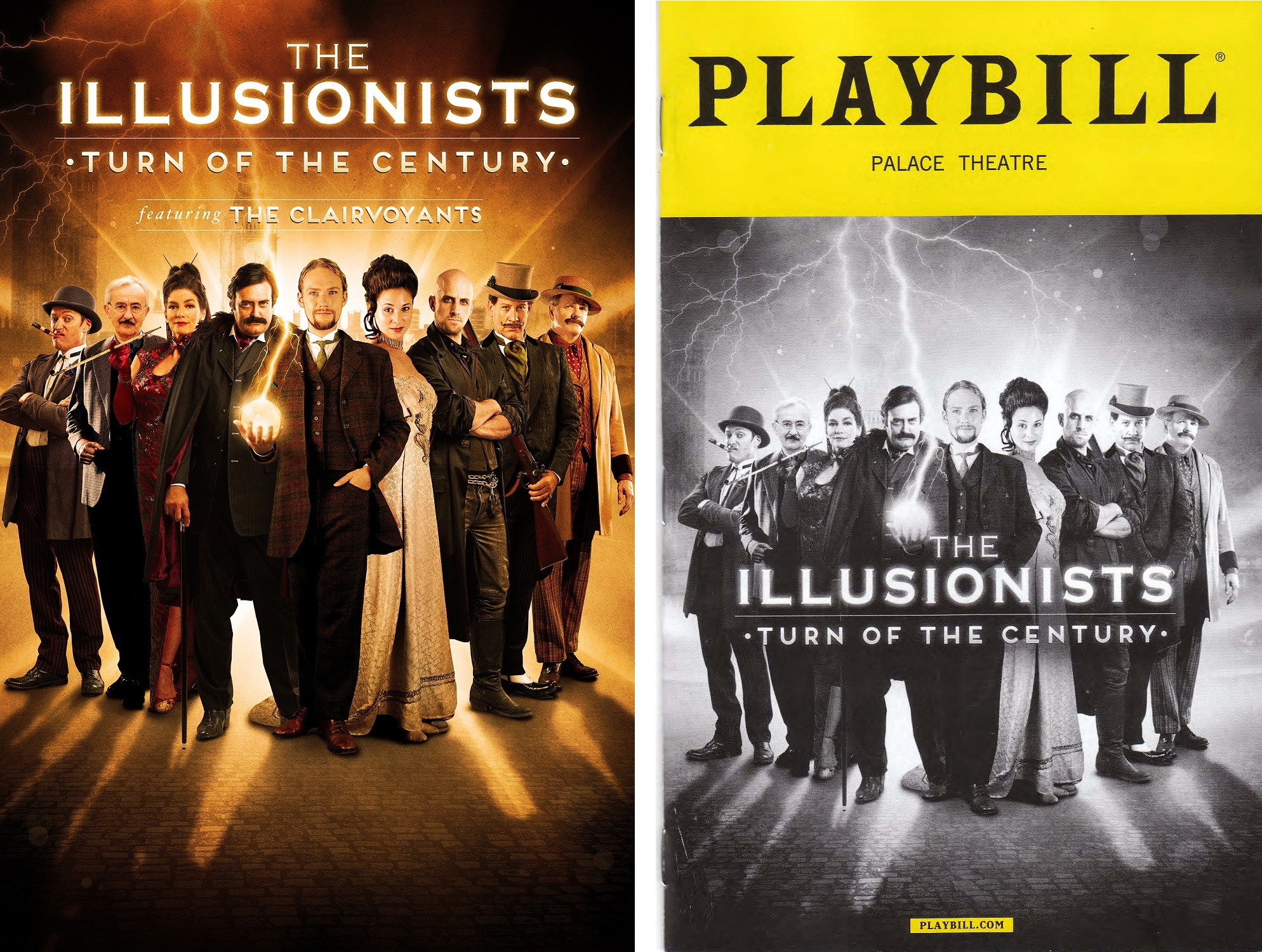 The illusionists turn of the century on broadway the for The broadway