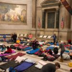 Sleepover at the National Archives