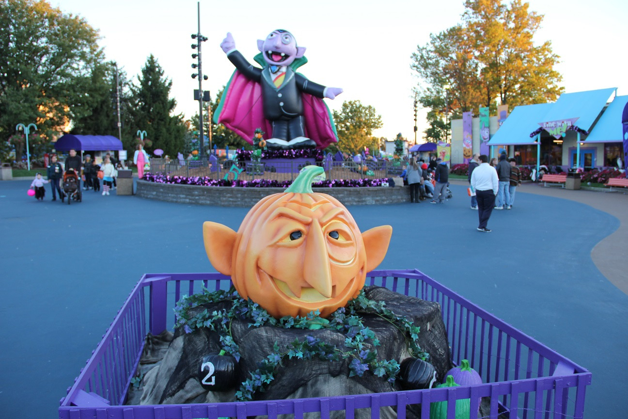 during the summer sesame place is almost evenly divided between dry rides and water rides - Sesame Place Halloween