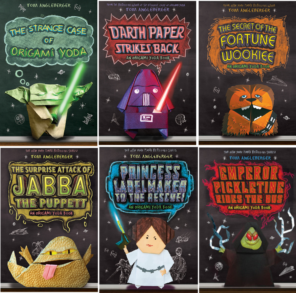 Star Wars Origami Yoda Books