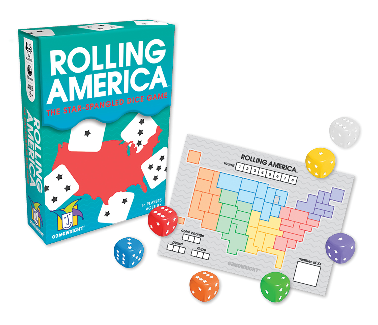 Circuit Maze The Roarbots Thinkfun Rolling America Star Spangled Dice Game