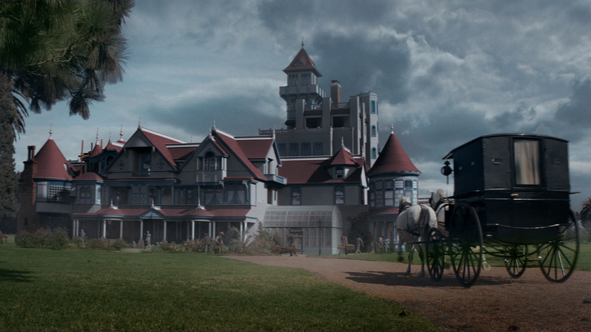see how they re-created the winchester mystery house for 'winchester