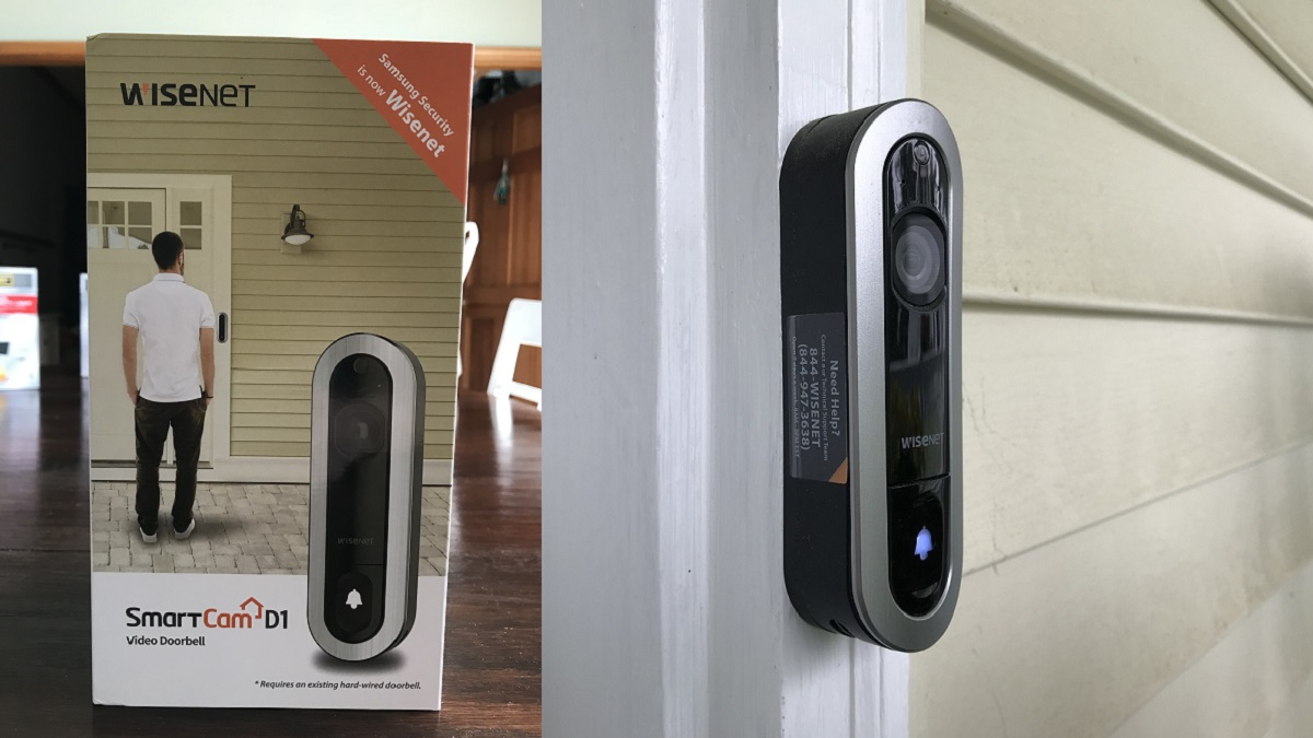 Iu0027ll be honest. I never really understood the allure of a u201csmart homeu201d or so-called smart products and appliances around the house. & Wisenetu0027s SmartCam Video Doorbell Is a Third Eye Always Trained on ...