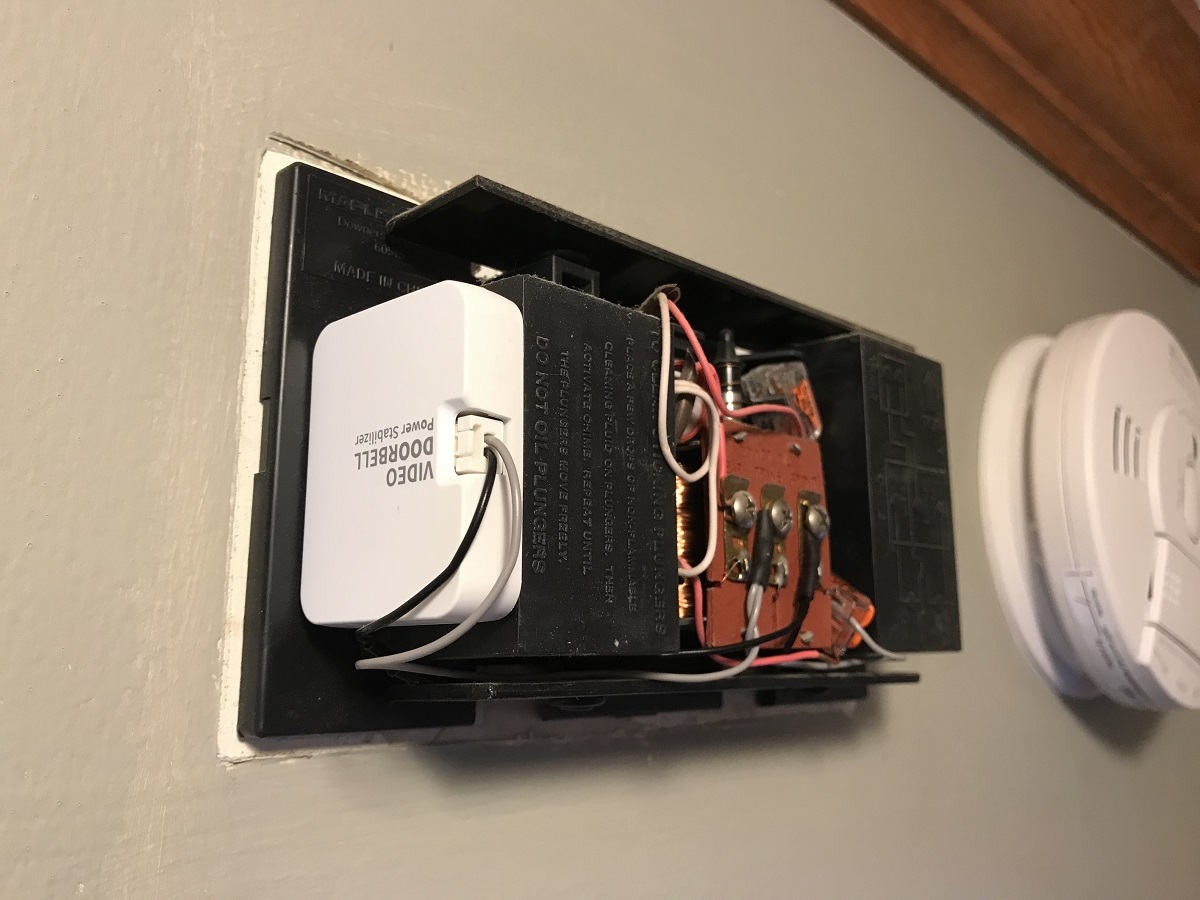 Wisenets Smartcam Video Doorbell Is A Third Eye Always Trained On Electrical Wiring For Voila