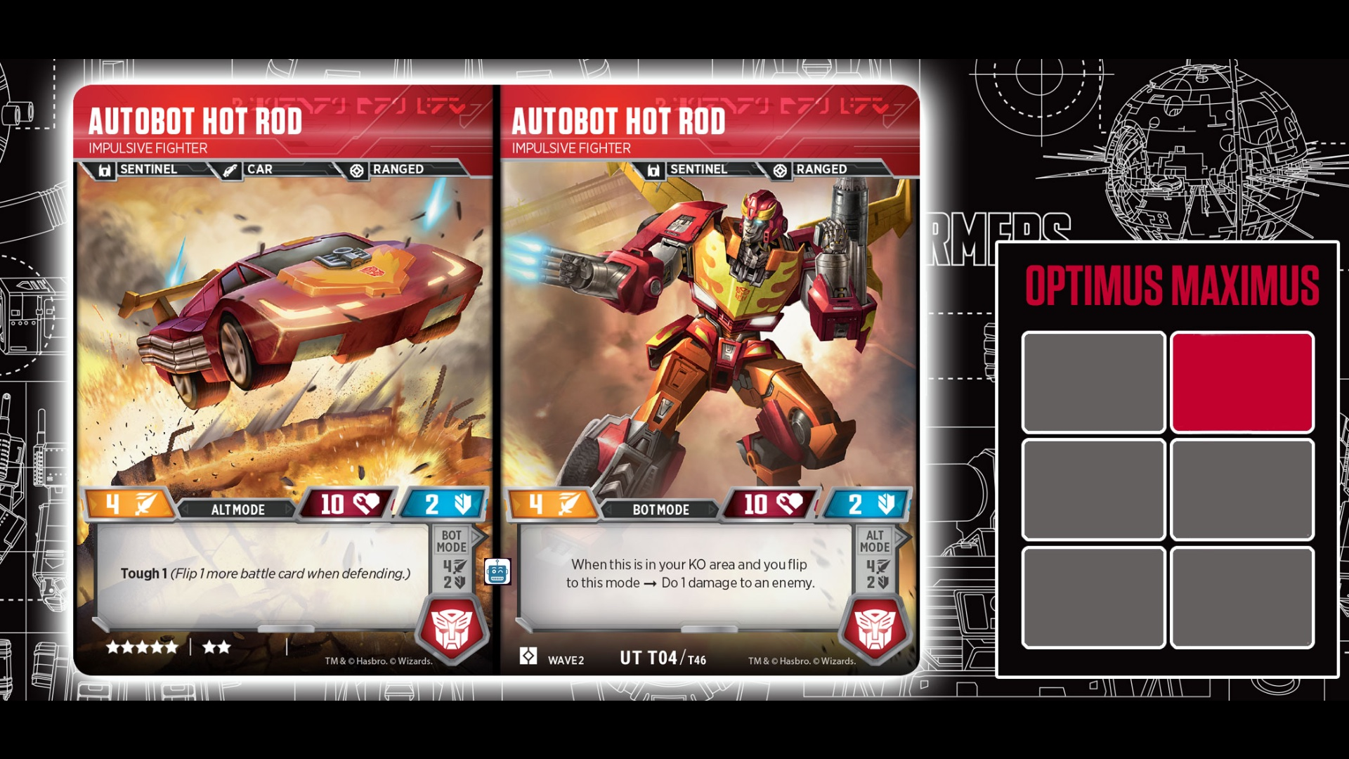 Transformers Tcg Hot Rod The Roarbots