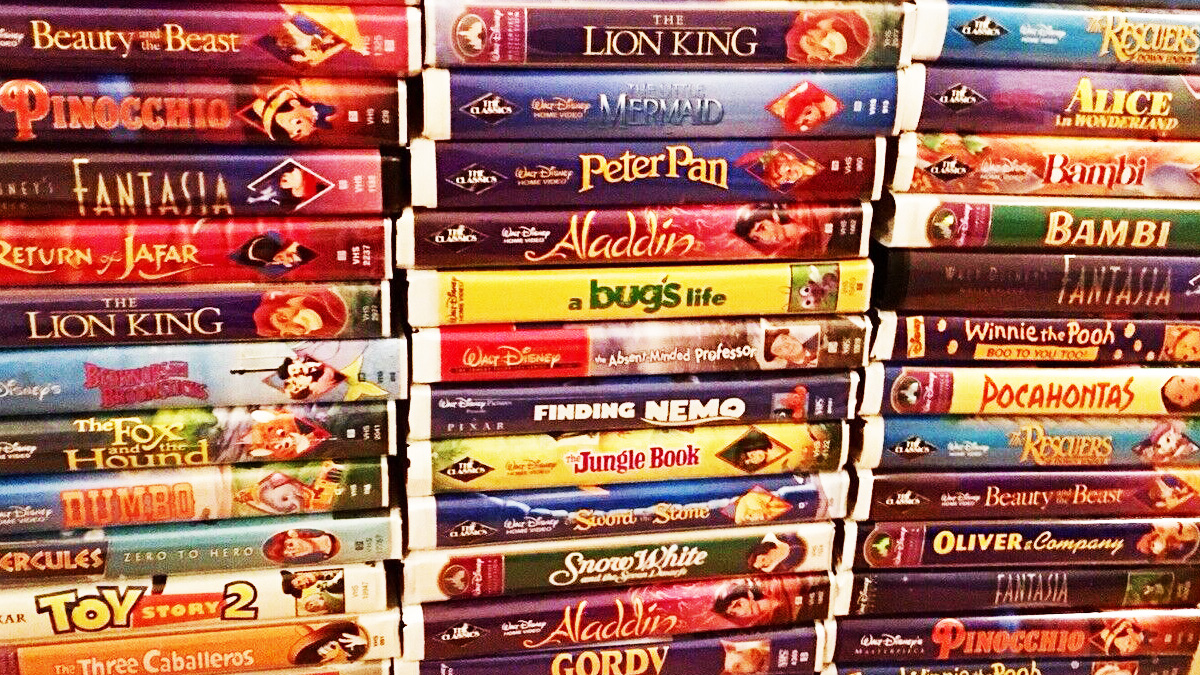I Hate To Tell You But Your Disney Vhs Tapes Are Not Worth